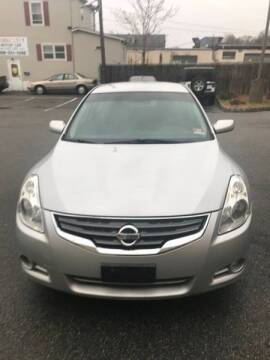 2012 Nissan Altima for sale at Jardims' Automotive in Roselle NJ
