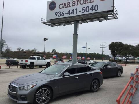 2016 Infiniti Q50 for sale at Your Car Store in Conroe TX