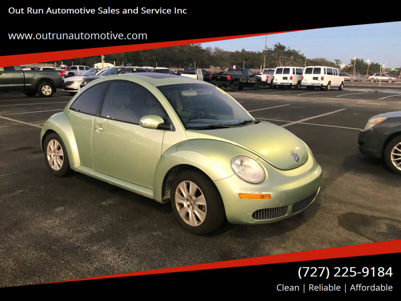 2009 Volkswagen New Beetle for sale at Out Run Automotive Sales and Service Inc in Tampa FL