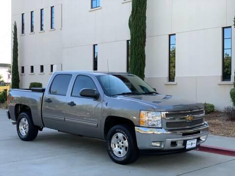 2012 Chevrolet Silverado 1500 for sale at Auto King in Roseville CA