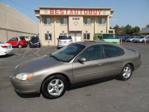 2003 Ford Taurus for sale at Best Auto Buy in Las Vegas NV