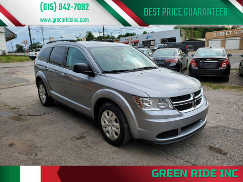 2016 Dodge Journey for sale at Green Ride Inc in Nashville TN