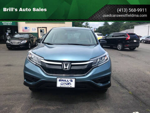 2015 Honda CR-V for sale at Brill's Auto Sales in Westfield MA