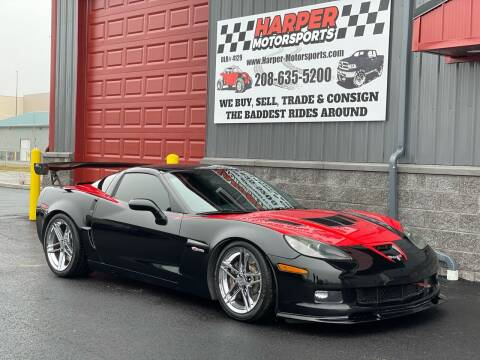 2008 Chevrolet Corvette for sale at Harper Motorsports-Vehicles in Post Falls ID