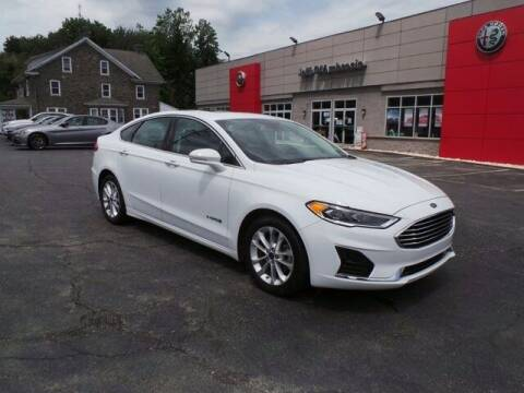 2019 Ford Fusion Hybrid for sale at Jeff D'Ambrosio Auto Group in Downingtown PA
