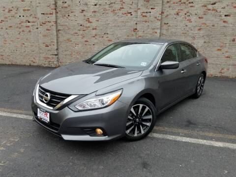 2018 Nissan Altima for sale at GTR Auto Solutions in Newark NJ