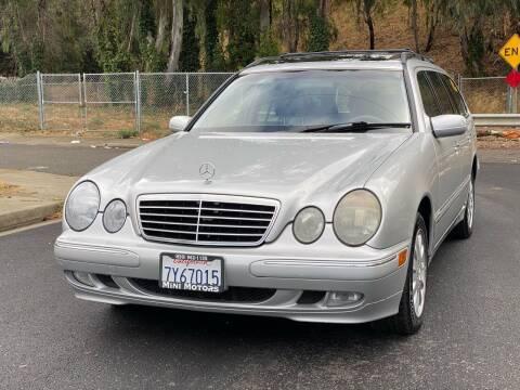 2000 Mercedes-Benz E-Class for sale at ZaZa Motors in San Leandro CA
