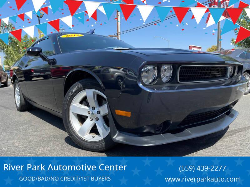 2012 Dodge Challenger for sale at River Park Automotive Center in Fresno CA