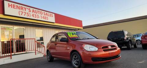 2009 Hyundai Accent for sale at Henry's Autosales, LLC in Reno NV
