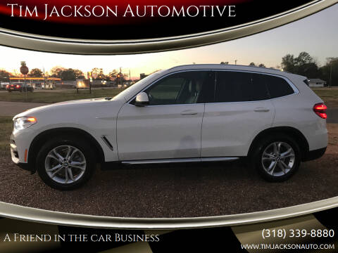 2020 BMW X3 for sale at Tim Jackson Automotive in Jonesville LA