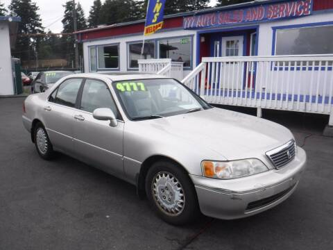 1997 Acura RL for sale at 777 Auto Sales and Service in Tacoma WA