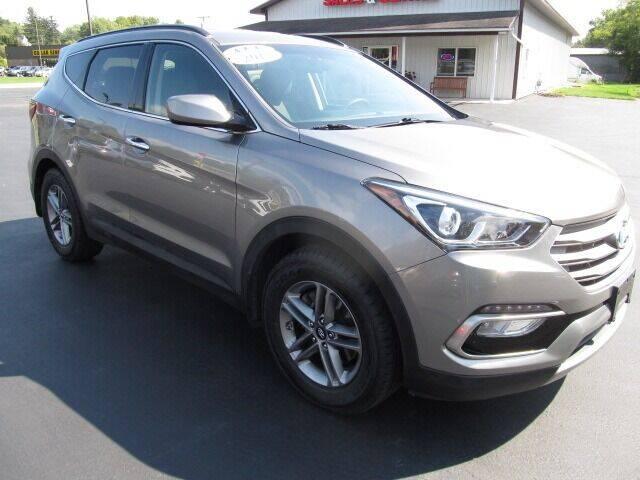 2017 Hyundai Santa Fe Sport for sale at Thompson Motors LLC in Attica NY
