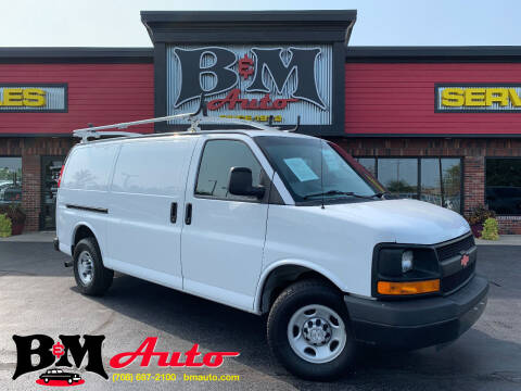 2016 Chevrolet Express Cargo for sale at B & M Auto Sales Inc. in Oak Forest IL