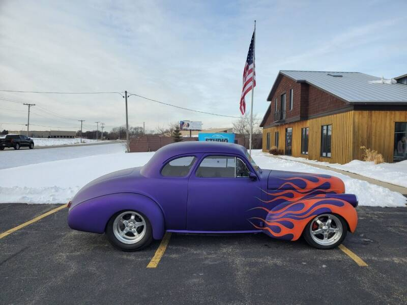 1940 Chevrolet Master Deluxe for sale at Studio Hotrods in Richmond IL