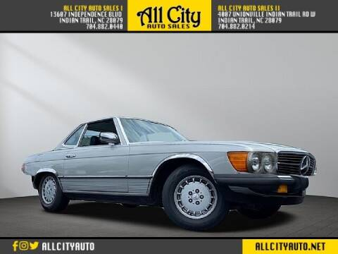 1982 Mercedes-Benz 380-Class for sale at All City Auto Sales II in Indian Trail NC