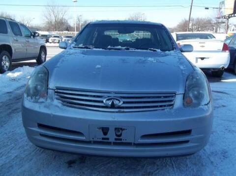 2004 Infiniti G35 for sale at Royal Motors - 33 S. Byrne Rd Lot in Toledo OH