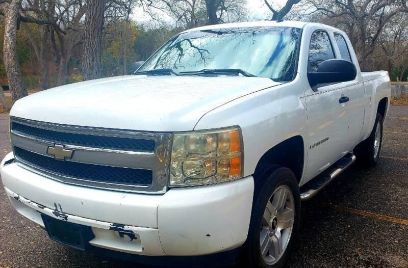2007 Chevrolet Silverado 1500 for sale at Jackson Motors Used Cars in San Antonio TX