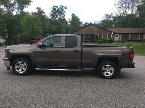 2014 Chevrolet Silverado 1500 for sale at Lou Rivers Used Cars in Palmer MA
