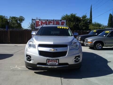 2013 Chevrolet Equinox for sale at Empire Auto Sales in Modesto CA