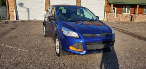 2014 Ford Escape for sale at Transmart Autos in Zimmerman MN