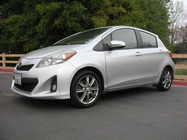 2013 Toyota Yaris for sale at Mrs. B's Auto Wholesale / Cash For Cars in Livermore CA