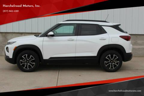 2021 Chevrolet TrailBlazer for sale at Harchelroad Motors, Inc. in Wauneta NE