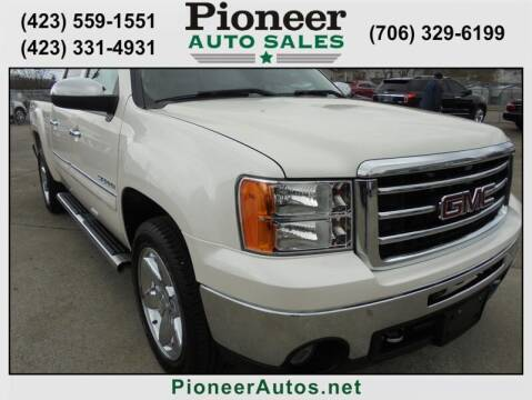 2013 GMC Sierra 1500 for sale at PIONEER AUTO SALES LLC in Cleveland TN