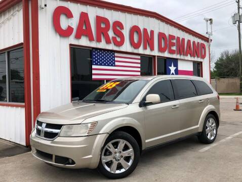 2009 Dodge Journey for sale at Cars On Demand 2 in Pasadena TX