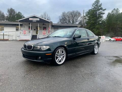2006 BMW 3 Series for sale at CVC AUTO SALES in Durham NC