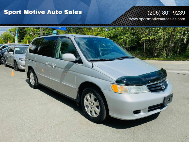 2003 Honda Odyssey for sale at Sport Motive Auto Sales in Seattle WA