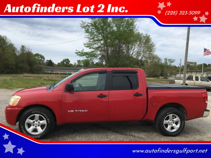 2007 Nissan Titan for sale at Autofinders in Gulfport MS