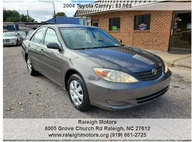 2004 Toyota Camry for sale at Raleigh Motors in Raleigh NC