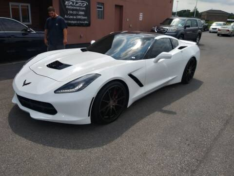 2014 Chevrolet Corvette for sale at ENZO AUTO in Parma OH