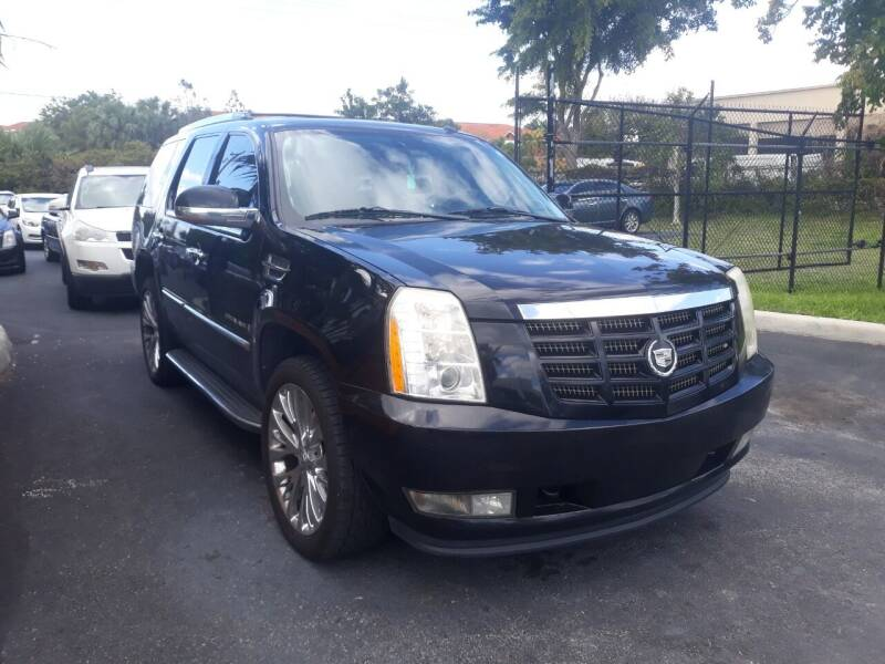 2008 Cadillac Escalade for sale at LAND & SEA BROKERS INC in Deerfield FL