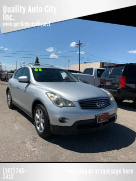 2008 Infiniti EX35 for sale at Quality Auto City Inc. in Laramie WY