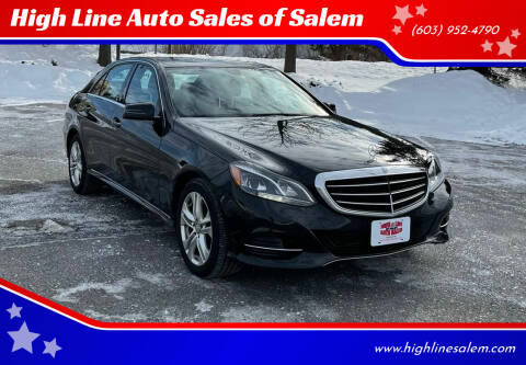 2016 Mercedes-Benz E-Class for sale at High Line Auto Sales of Salem in Salem NH