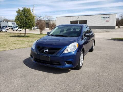 2014 Nissan Versa for sale at Image Auto Sales in Dallas TX