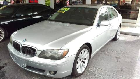 2008 BMW 7 Series for sale at Tony's Auto Sales in Jacksonville FL