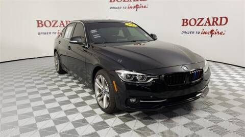 2016 BMW 3 Series for sale at BOZARD FORD in Saint Augustine FL