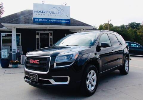 2014 GMC Acadia for sale at Maryville Auto Sales in Maryville TN