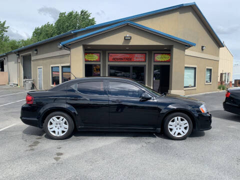 2014 Dodge Avenger for sale at Advantage Auto Sales in Garden City ID