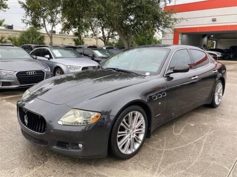 2011 Maserati Quattroporte for sale at Florida Fine Cars - West Palm Beach in West Palm Beach FL