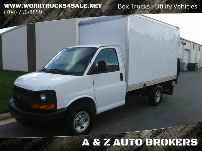 2016 Chevrolet Express Cutaway for sale at A & Z AUTO BROKERS in Charlotte NC
