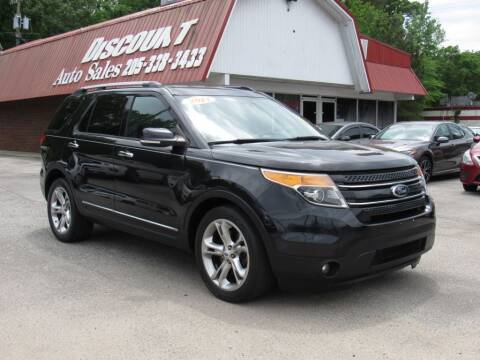 2014 Ford Explorer for sale at Discount Auto Sales in Pell City AL