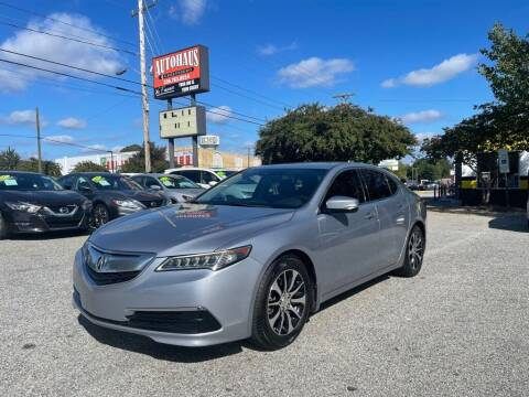 2015 Acura TLX for sale at Autohaus of Greensboro in Greensboro NC