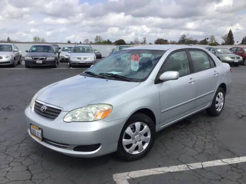 2008 Toyota Corolla for sale at My Three Sons Auto Sales in Sacramento CA