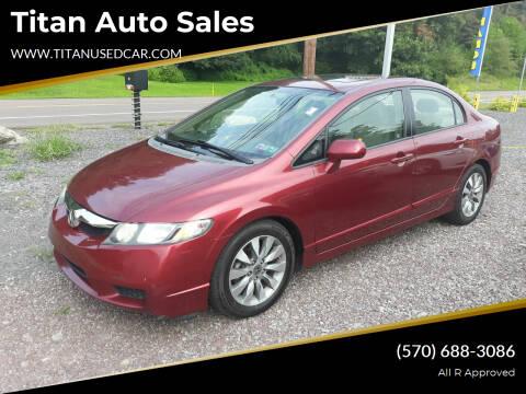 2009 Honda Civic for sale at Titan Auto Sales in Berwick PA