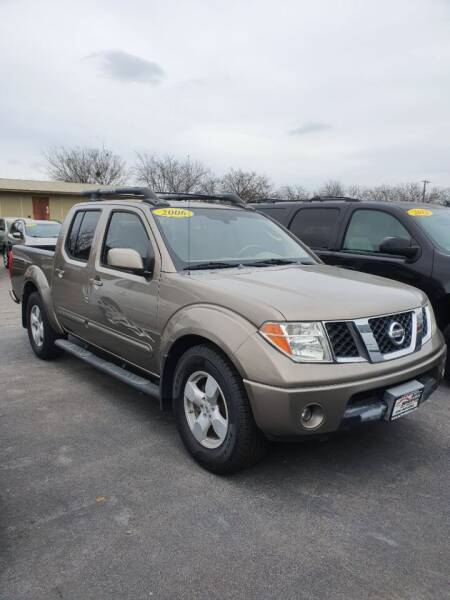 2006 Nissan Frontier for sale at Auto Solution in San Antonio TX