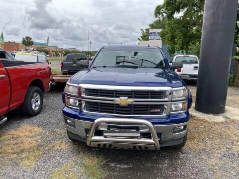 2014 Chevrolet Silverado 1500 for sale at THE COLISEUM MOTORS in Pensacola FL