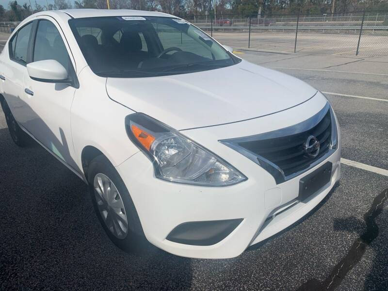 2017 Nissan Versa for sale at Drive Now Motors in Sumter SC